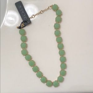 J.Crew light green necklace
